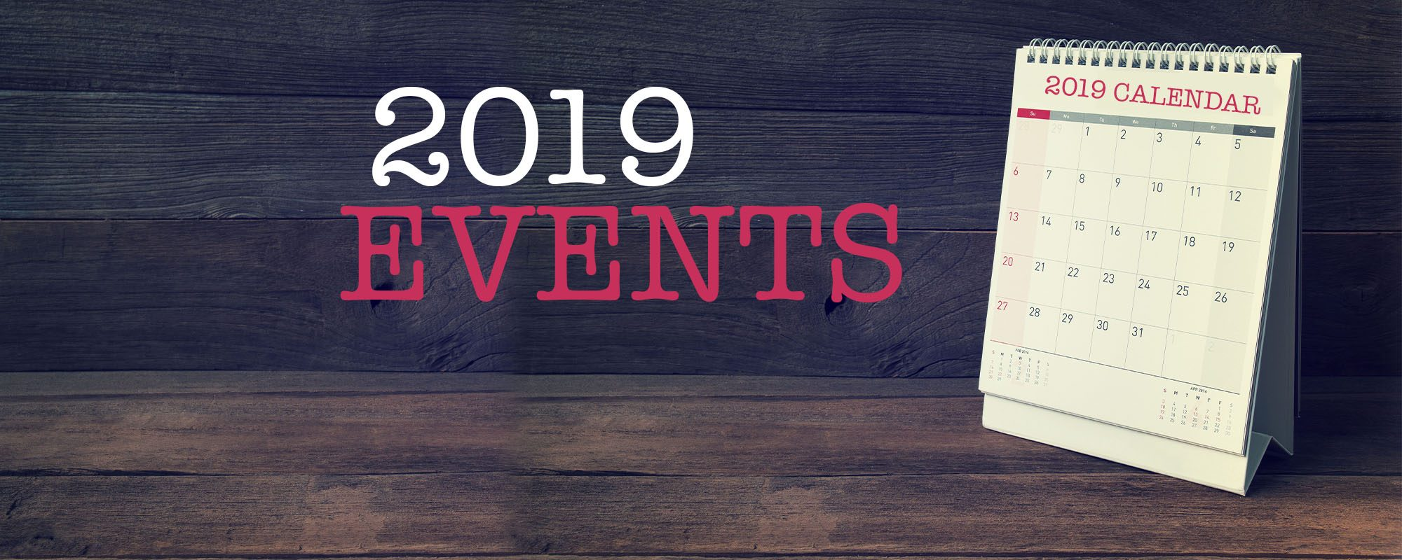 CALENDER2019 EVENTS